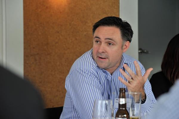 Telstra executive director solution sales, Brendan Donohoe.